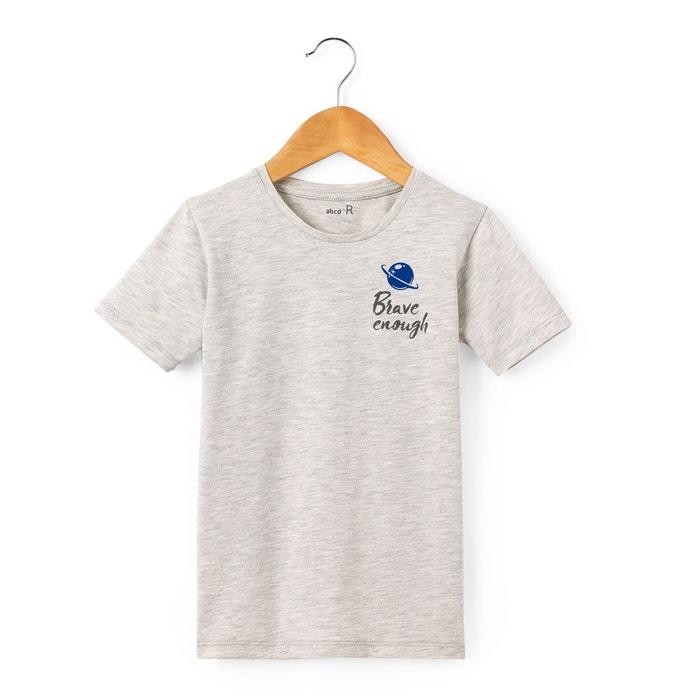 T-shirt imprimé dos 3-12 ans