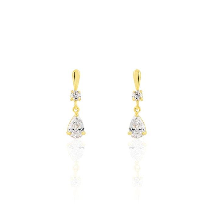 Vente Sneakernews Boucles d'oreilles pendantes or jaune jaune Histoire D'or | La Redoute Style De Mode Pas Cher YWvvdhT