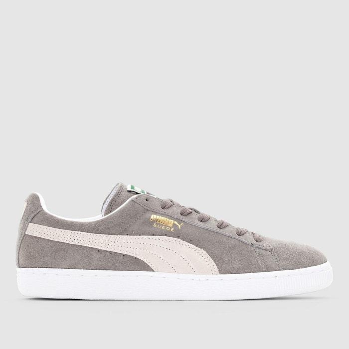 4ab530157 Baskets suede classic + gris/blanc Puma | La Redoute