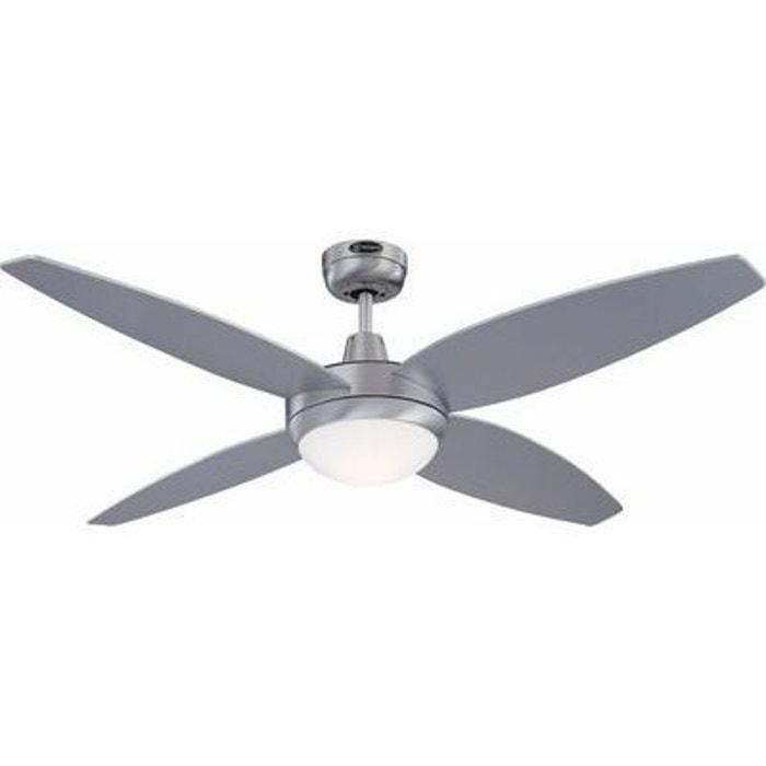 Ventilateur de Plafond Havanna 132cm Alu Argenté 7254640