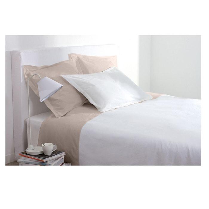 drap housse 160 x 200 cm atmosphera la redoute. Black Bedroom Furniture Sets. Home Design Ideas