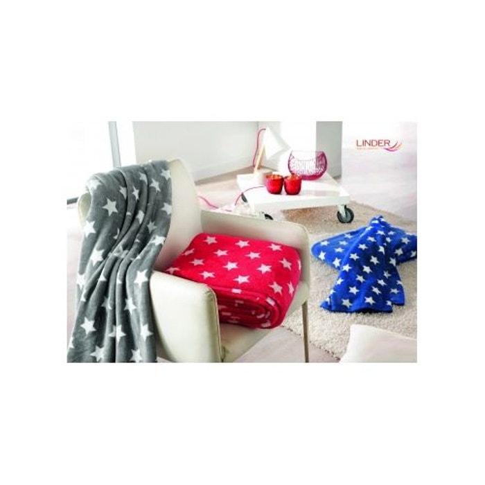 plaid en polaire etoil s home maison la redoute. Black Bedroom Furniture Sets. Home Design Ideas