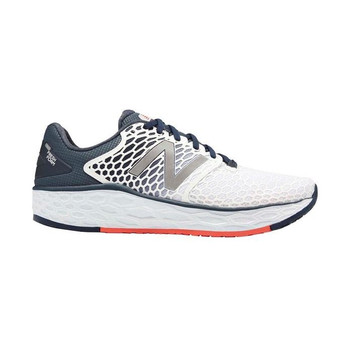 4d05fb0eb2c Chaussures de course à pied sur route imprimé blanc gris New Balance ...