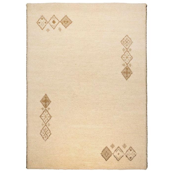 tapis berb re royal double tapis salon blanc theko la. Black Bedroom Furniture Sets. Home Design Ideas