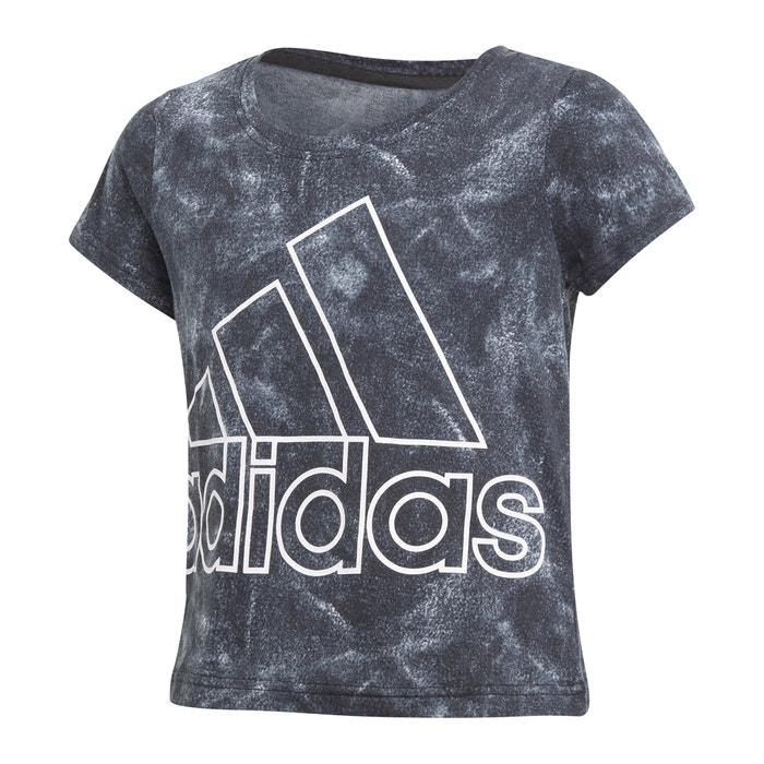 Plain Short-Sleeved Crew Neck T-Shirt  Adidas originals image 0