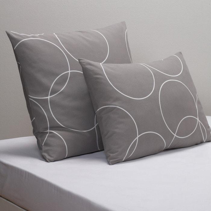 Image Taie d'oreiller imprimée, CIRCLE. La Redoute Interieurs