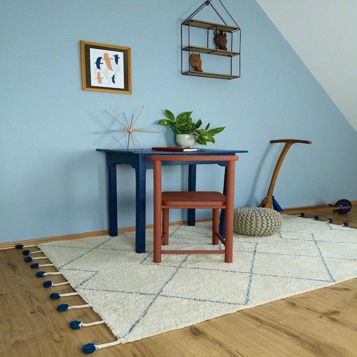 TANVI naturel et bleu lavable pour Chambre bébé garçon par Nattiot