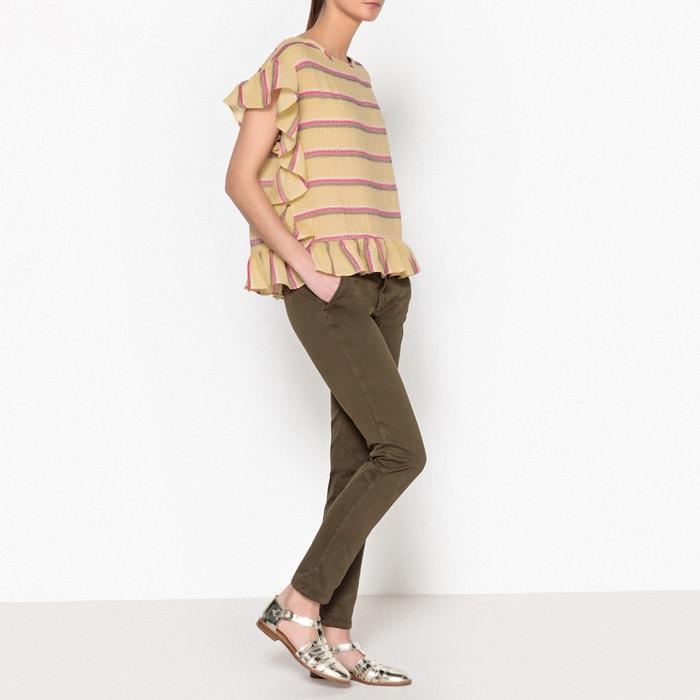 Amanda Striped Blouse  TOUPY image 0