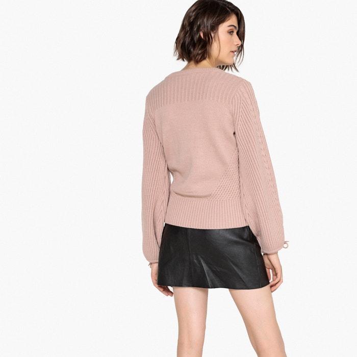 de Redoute La lana pico Collections Jersey con cuello X1O1dr