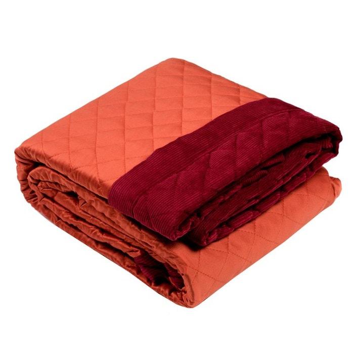 plaid polyester newbury rouge brique rouge brique madura. Black Bedroom Furniture Sets. Home Design Ideas