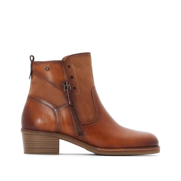 Boots cuir zaragoza w9h marron Pikolinos Nicekicks Libre D'expédition agLtzfU2J