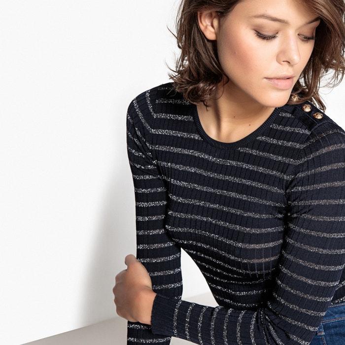 afbeelding Trui in fijn tricot met ronde hals SUNCOO