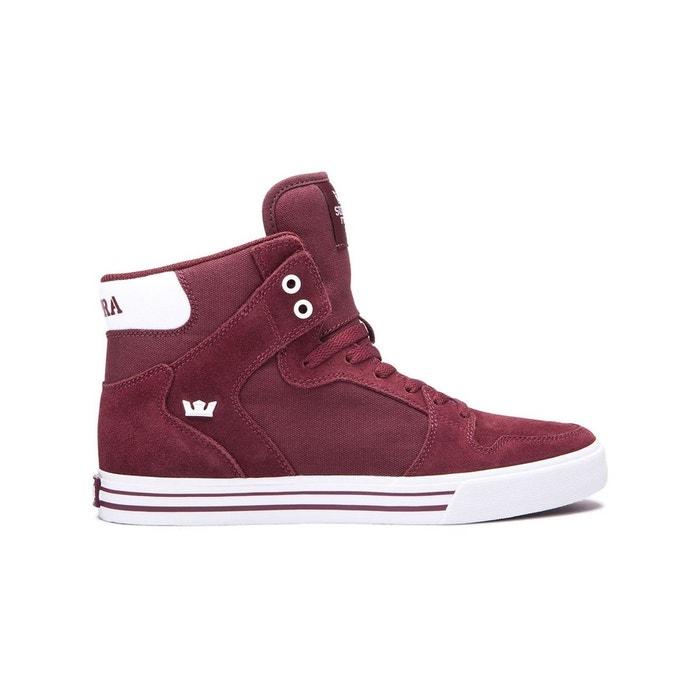 Chaussure vaider rouge Supra