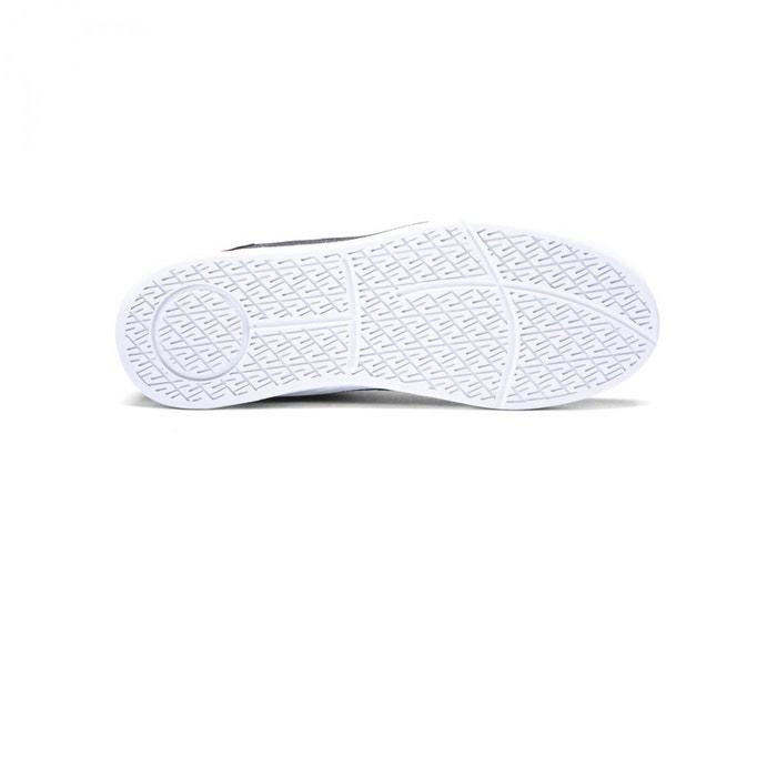 Chaussures quattro black white noir Supra