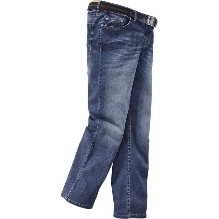 19acf4cff54db Jean taille basse joel bleu Jan Vanderstorm | La Redoute