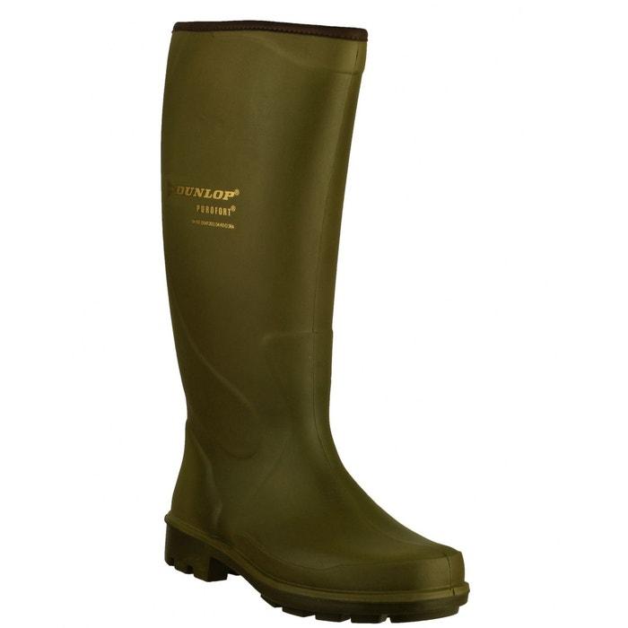 Dunlop puro terroir p184833 - bottes imperméables - homme  vert Dunlop  La Redoute