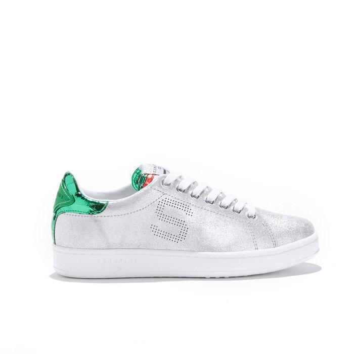 Baskets j. connors - silver & green   argent Serafini   La Redoute