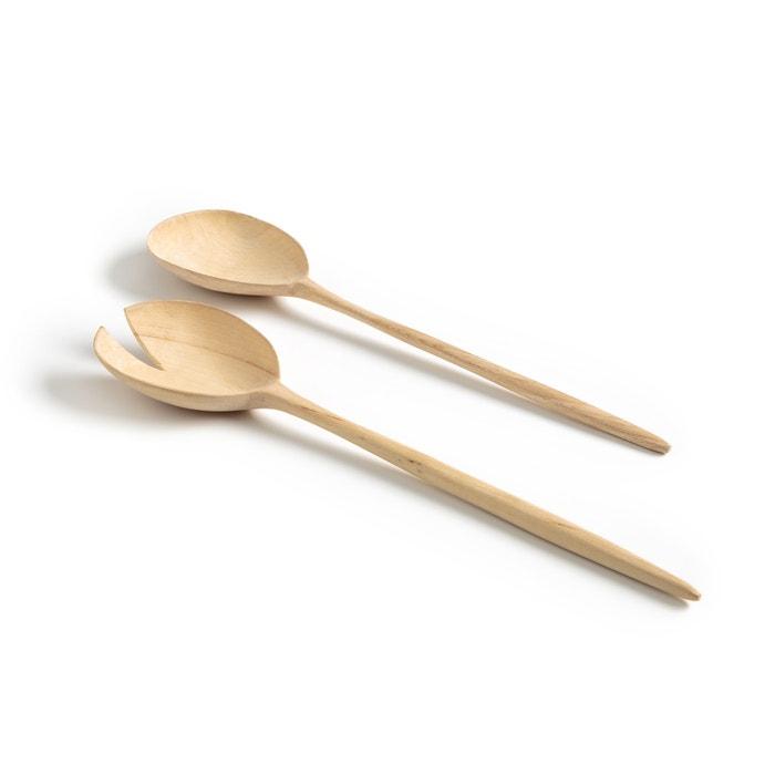2 cucchiai da servizio olmo Sasaki By V. Barkowski  AM.PM. image 0