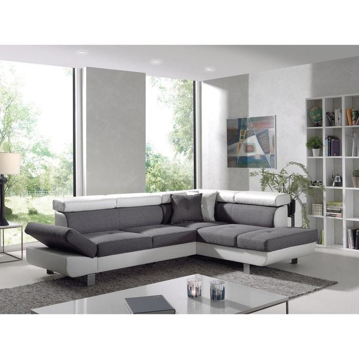 canap d 39 angle droit convertible lisbona bobochic la redoute. Black Bedroom Furniture Sets. Home Design Ideas