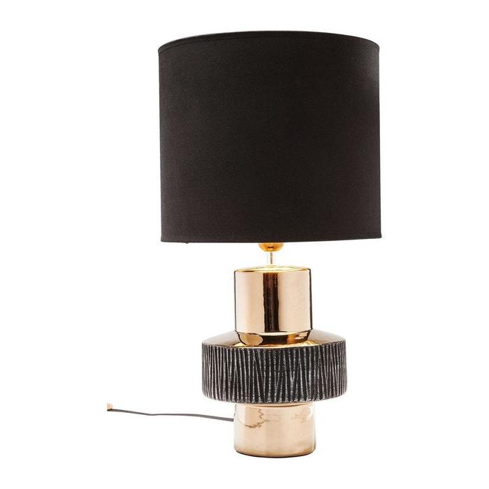 lampe de table creation ring kare design noir kare design. Black Bedroom Furniture Sets. Home Design Ideas