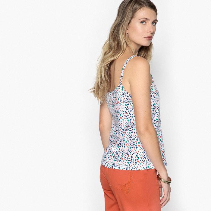 Camiseta ANNE lunares de tirantes finos estampada WEYBURN top con 5aTqO