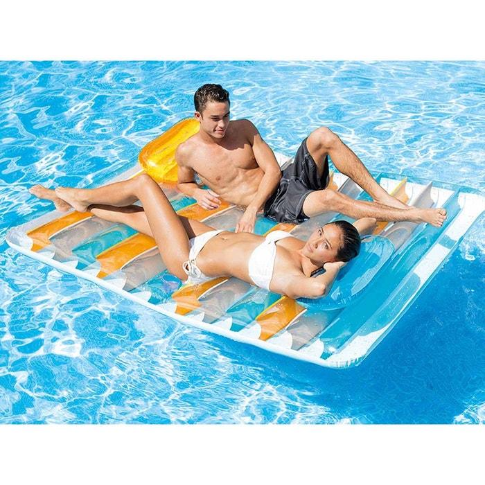 matelas de piscine double vis vis intex la redoute. Black Bedroom Furniture Sets. Home Design Ideas
