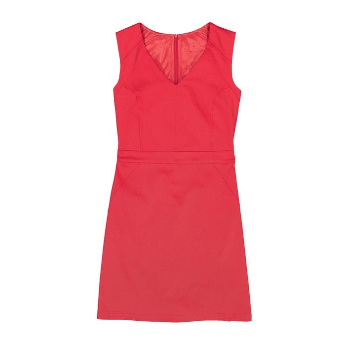 afbeelding Getailleerde jurk met V-hals atelier R