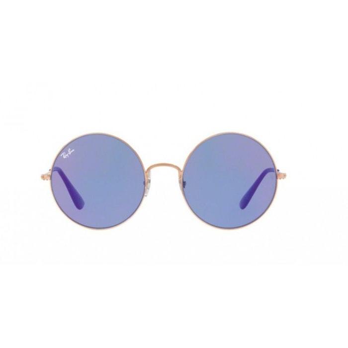 e06f18523a7ace Lunettes de soleil mixte ray ban bleu rb 3592 9035d1 55 20 bleu Ray-Ban    La Redoute