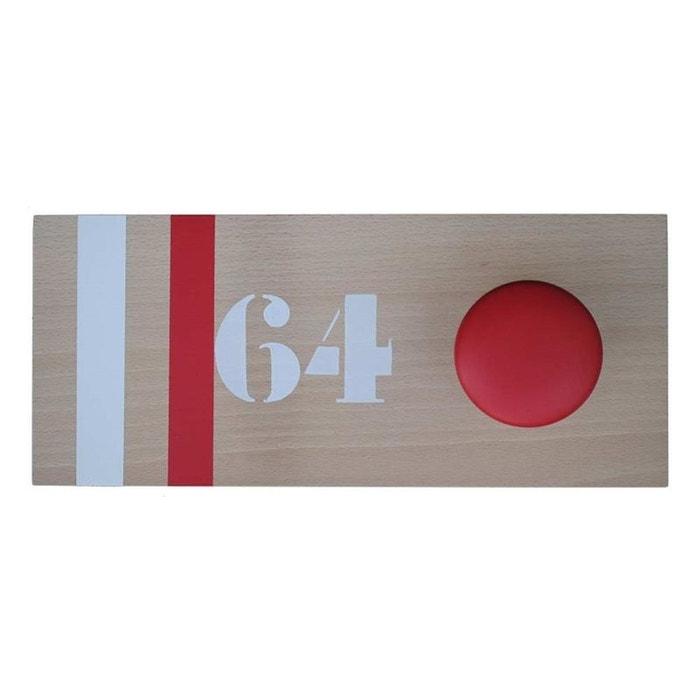 pat re simple en bois l34 la redoute. Black Bedroom Furniture Sets. Home Design Ideas