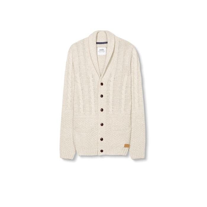 Image Sweter z warkoczowej dzianiny ESPRIT