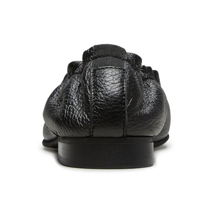 Ballerines cuir - black Selected Femme