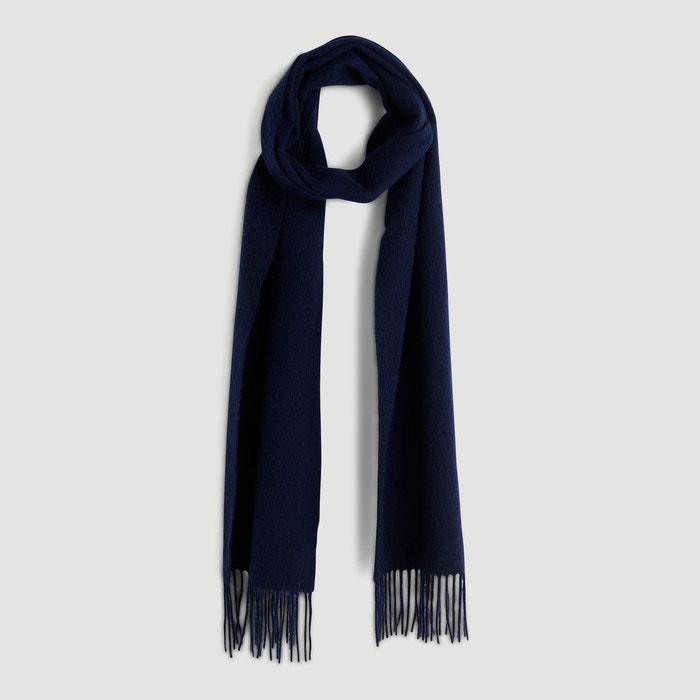 Echarpe en laine bleu Monoprix   La Redoute e0519de46ba