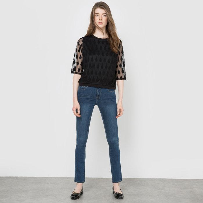 Image Jean slim denim stretch, taille normale, entrejambe 81 cm La Redoute Collections