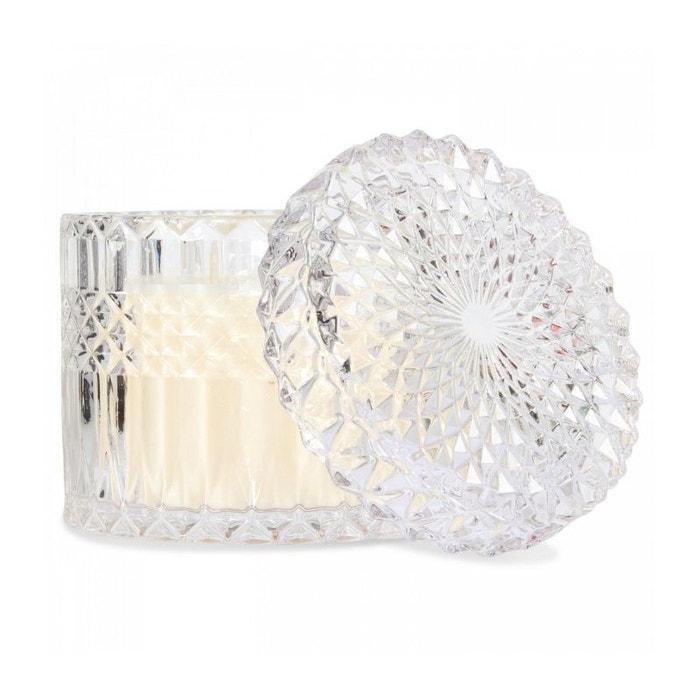 bougie parfum e menthe ananas d corative pot en verre. Black Bedroom Furniture Sets. Home Design Ideas