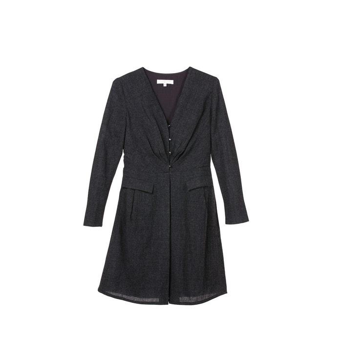 5c37755a5f8f Robe habillée manche longue chic et moderne en pure laine Sunday Life