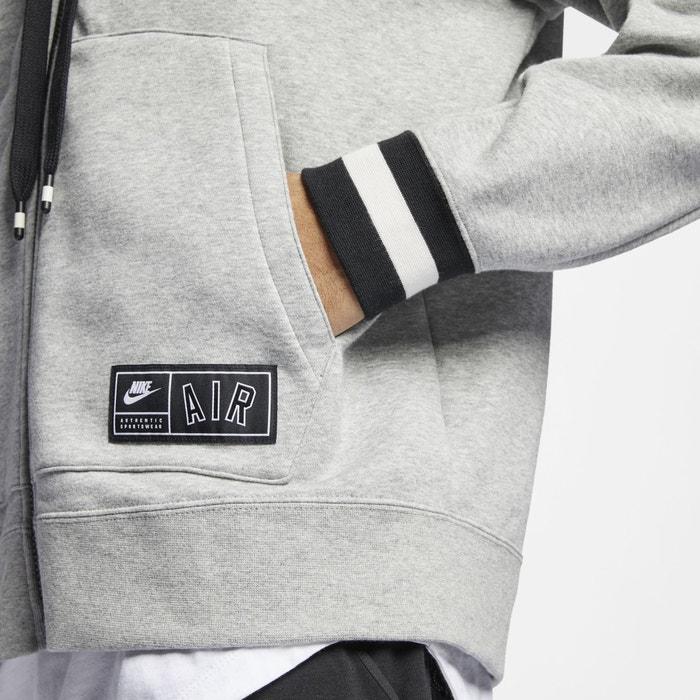 946fafa74df6e Sweat com fecho e capuz nike air cinza mesclado Nike | La Redoute