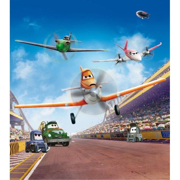 Papier Peint Xl Escadron En Vol Planes Disney 180x202 Cm