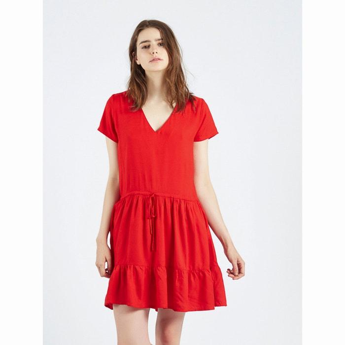 robe vestido rojo ada rouge compania fantastica la redoute. Black Bedroom Furniture Sets. Home Design Ideas