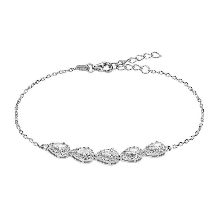 Remises Vente En Ligne Prix boutique Pas Cher Bracelet argent 925/1000 oxyde argente Cleor | La Redoute Magasin Vente En Ligne qlgzRS0W2