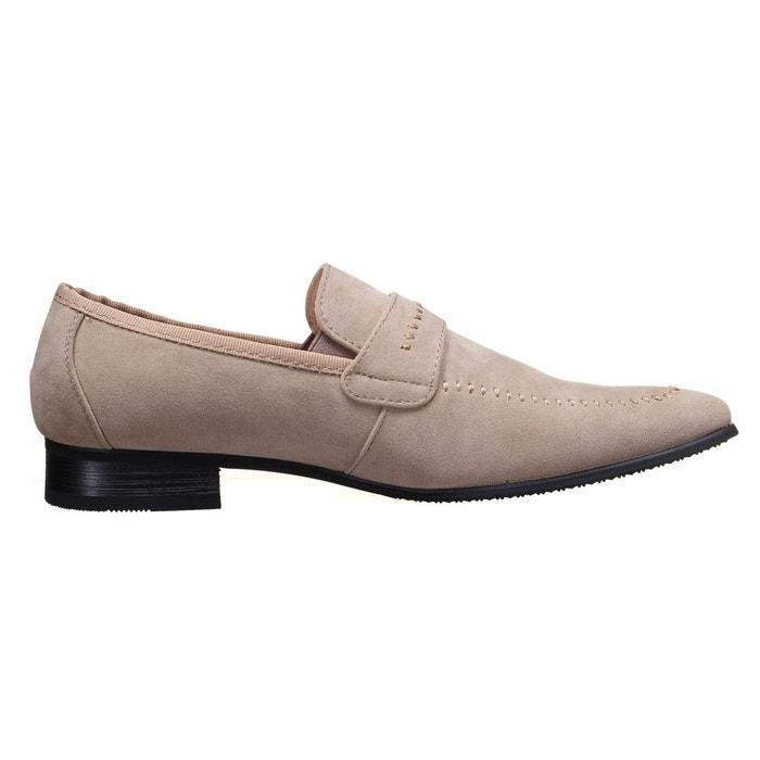 Chaussure derbie à enfiler beige Reservoir Shoes