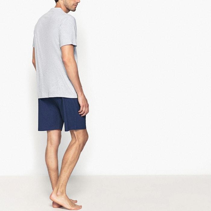 short sleeved short pyjamas with gaston lagaffe print. Black Bedroom Furniture Sets. Home Design Ideas