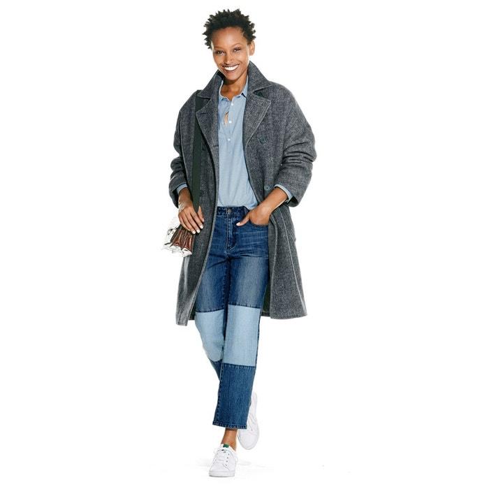 Caban long oversize en tweed La Redoute Collections