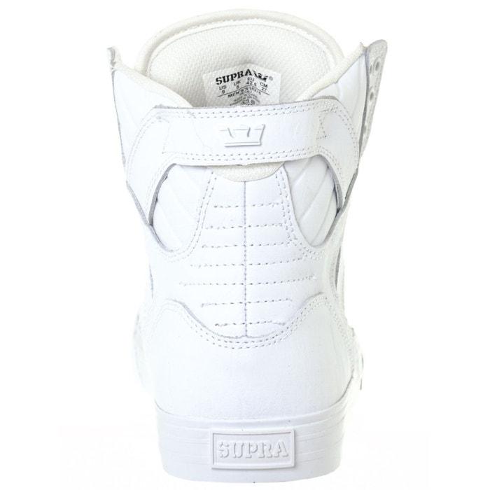 Chaussure skytop blanc Supra