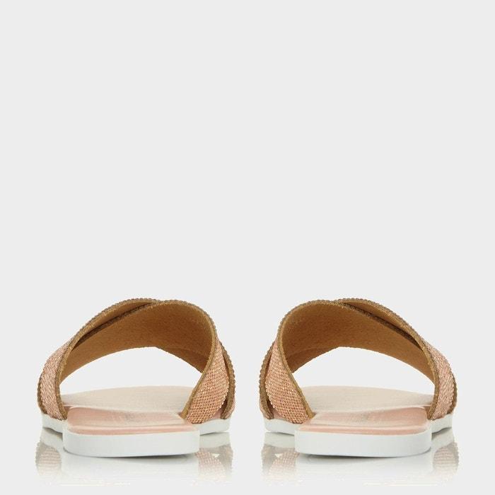 Sandales à strass et brides croisées - nevadaa Dune London