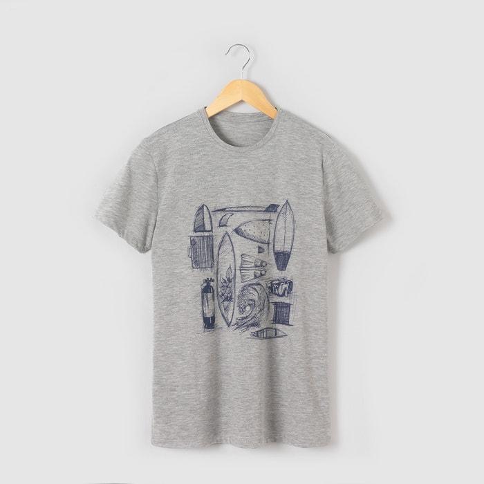 """Image T-shirt """"surf"""" 10-16 ans R pop"""