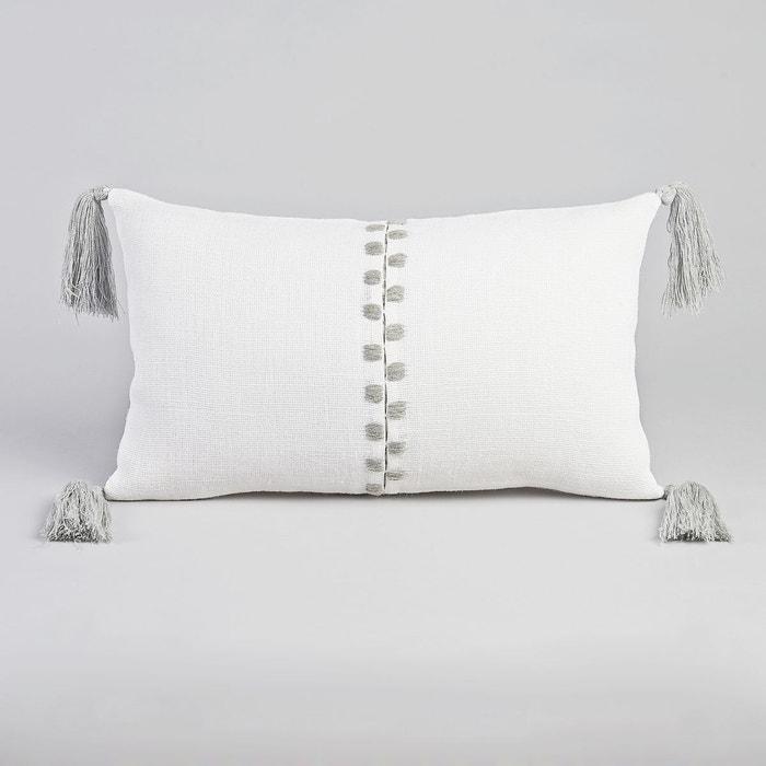 housse de coussin yegara design v barkoswki ecru am pm la redoute. Black Bedroom Furniture Sets. Home Design Ideas