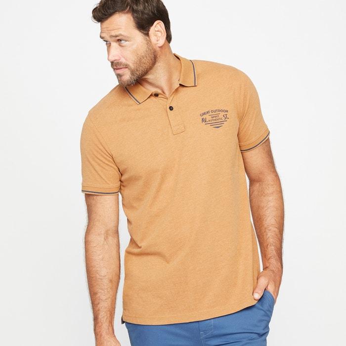 Image Polo z dżerseju haftowane CASTALUNA FOR MEN