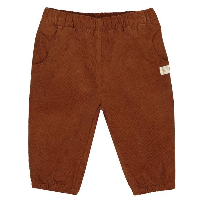 Pantaloni alla turca in velluto piccolo stemma 0 mesi -2 anni  La Redoute Collections image 0
