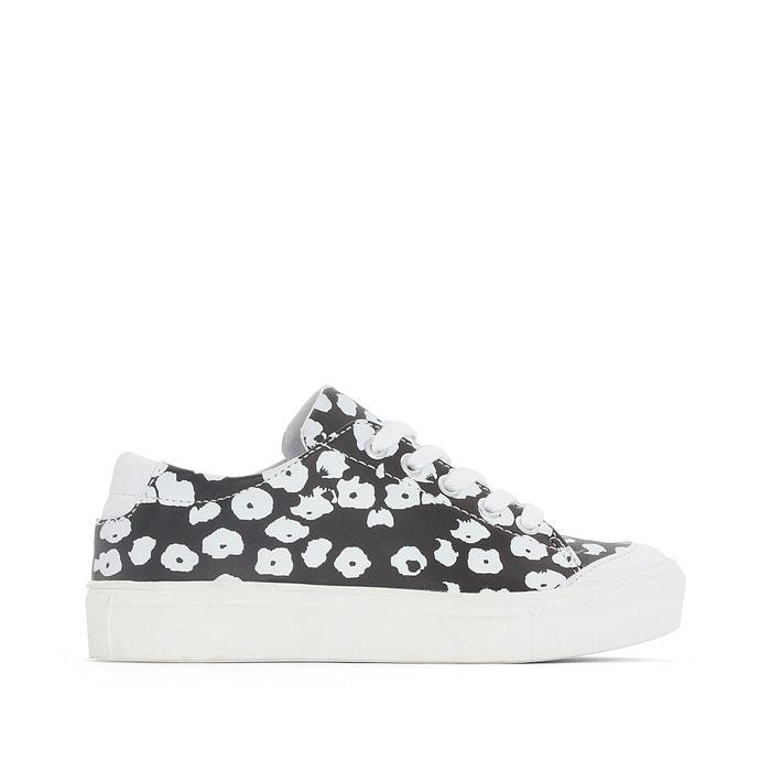 afbeelding Sneakers met bloemenprint La Redoute Collections