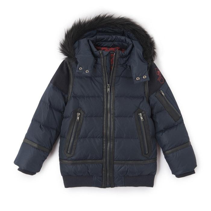 Padded Jacket with Faux Fur Hood, 3-14 Years  IKKS JUNIOR image 0